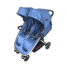 Aston Twin Stroller - Blue