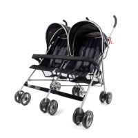 Miami Twin Stroller - Black