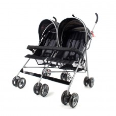 Miami Twin Stroller - Black