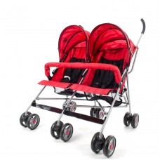 Miami Twin Stroller - Red