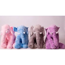 Elephant Soft Toy Pillow - Multi Colours