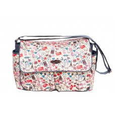 Snuggletime - Parisian Hearts Nappy Bag