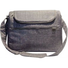 Snuggletime - Classic Grey Nappy Bag