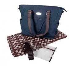 Snuggletime - Victorian Nappy Bag - Navy