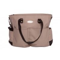 Snuggletime - Victorian Beige Nappy Bag