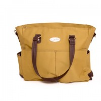 Snuggletime - Victorian Khaki Nappy Bag