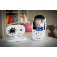 Motorola - MBP27T Video Monitor With Thermometer