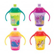 Click Lock Decorated Trainer Cup