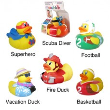 White Hot Super Safety Bath Ducky