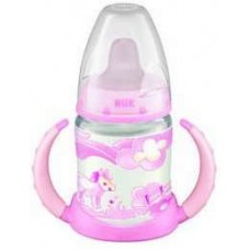 NUK - First Choice Learner Bottle with Non Spill Spout 150ml - Rose