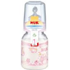 NUK - Standard Bottle Silicone Teat - Size1 110ml - Rose