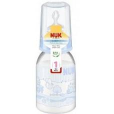 NUK - Standard Bottle Silicone Teat Blue SZ1 110ml