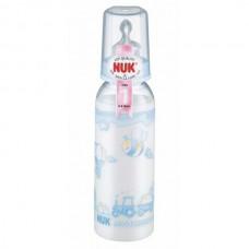 NUK - Standard Bottle Silicone Teat SZ1 240ml - Blue