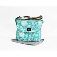 Peppertree Nappy Bag - Kanga Aqua