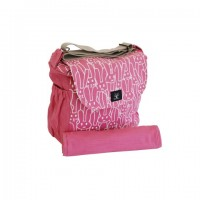 Peppertree Nappy Bag - Multiply Opaque White on Jellybean