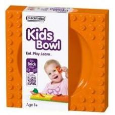 Placematix - Kids Bowl - Orange