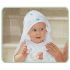 Snuggletime Breathable Cotton Hooded Towel