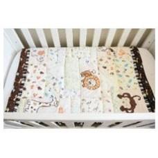 Jungle - 3 Piece Quilt Set - (Quilt, Pillow & Pillow case)