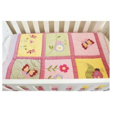 Ladybird - 3 Piece Quilt Set (Quilt, Pillow & Pillow case)
