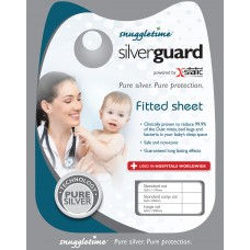 Silverguard Fitted Sheet - Standard Cot