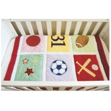 Sport - 3 Piece Quilt Set - (Quilt, Pillow & Pillow case)