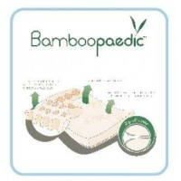 Snuggletime - Bamboopaedic (with zip off cover) - Standard Cot