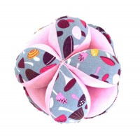 Baby Sensory Play Ball - Pink A1