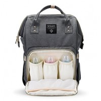 Backpack Nappy bag - Grey