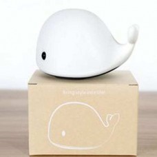 Whale Silicone Night Light