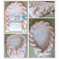 Braided Bumper Baby Nest
