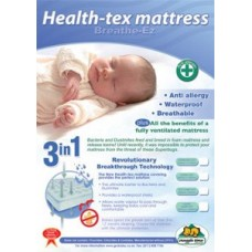 Healthtex Mattress - Standard Camp Cot