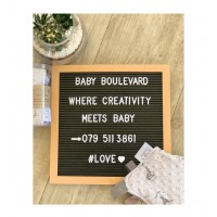 Letter Board with Extra set of Letters