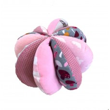 Baby Sensory Play Ball - Pink B1